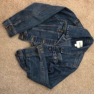 Cute youth jean jacket